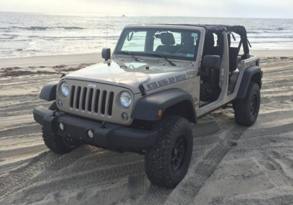 Beach Jeep from Outer Banks Jeep Rentals